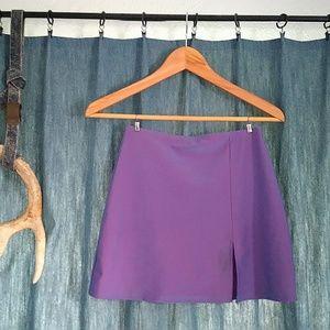 Dresses & Skirts - Purple/Blue Shimmer Slit Skirt